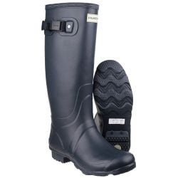 Women's Navy Huntress Wellington By Hunter - Sizes 3 - 8