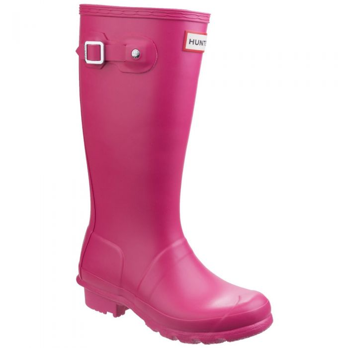 Kids Pink Original Wellington By Hunter - Sizes 1-13