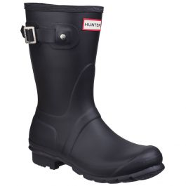 Women's Black Original Wellington By Hunter - Sizes 3 - 8