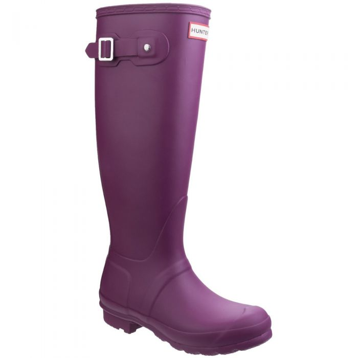 Women's Violet Tall Wellington By Hunter - Sizes 3 - 8
