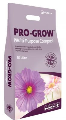 10LTR Pro-Grow Multi Purpose Compost - Peat Free