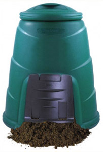 330L Large Compost Bin (Green)