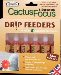 Cactus Focus Drip Feeders By Growth Technology
