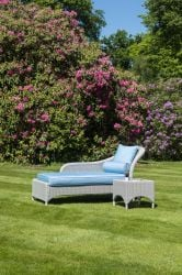 Alexander Rose - Classic Chaise And Side Table