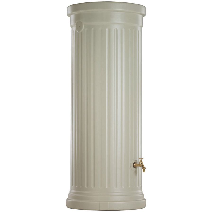 330 Litre Column Water Tank in Sandstone