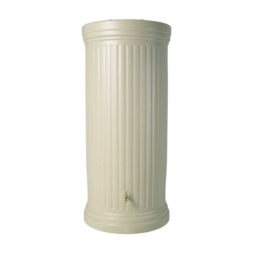 2000 Litre Column Water Tank in Sandstone