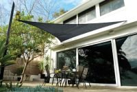 Coolaroo Charcoal Sail Shade - Triangle 5.0m