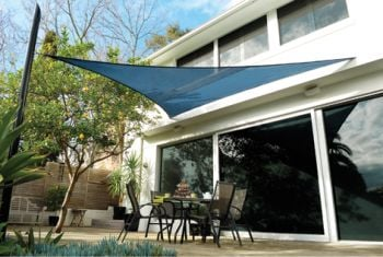 Coolaroo Blue Ocean Sail Shade - Triangle 3.6m