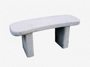 Curved 1.2m (3ft 11ins) Granite Bench