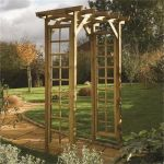 Wooden Square Top Arch H2.2m