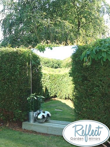 6ft x 1½ft Large Narrow Garden Mirror - by Reflect™