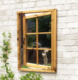 3ft 2in x 2ft 2in Garden Mirror Illusion – Open Window
