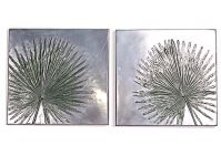 Anahaw palm wall panels – set of two