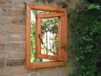 2ft 2in x 1ft 7in Garden Mirror Illusion � Small Window