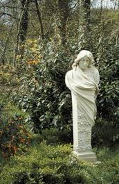 Classical Terminal Stone Statue - Spring