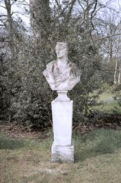 Bust of a Satyress Stone Statue