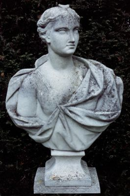 Bust of Diana Stone Statue