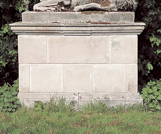 Pedestal for Stag Stone Statue