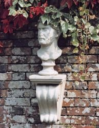 Bust of Hadrian Stone Statue with Base