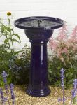 Smart Solar Ravenna Bird Bath Fountain Water Feature (H61cm)