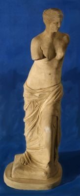 Natural Finish Concrete Venus Statue H85cm
