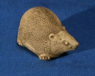 Natural Finish Concrete Hedgehog Ornament L23cm