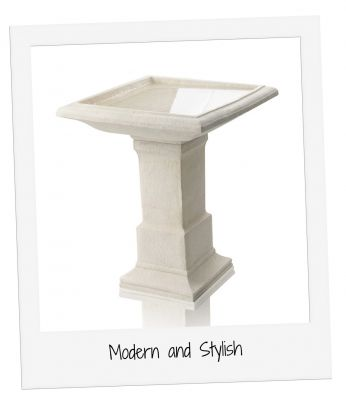 51cm Hatfield Cast Stone Bird Bath