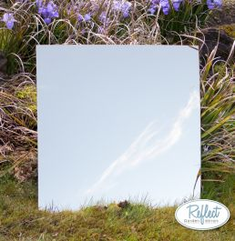 2ft x 2ft Small Square Gold Garden Mirror - by Reflect™