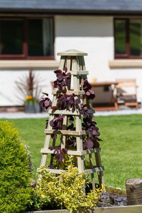 1.2m (3ft 11in) Scafell Wooden Obelisk FSC® by Zest 4 Leisure