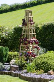 2m (6ft 7in) Snowdon Wooden Obelisk FSC® by Zest 4 Leisure®