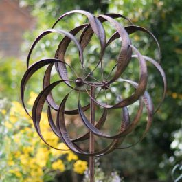 Brushed Copper Pemberley Wind Spinner Dia 61cm by Creekwood™