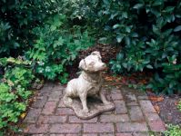 Terrier Stone Statue