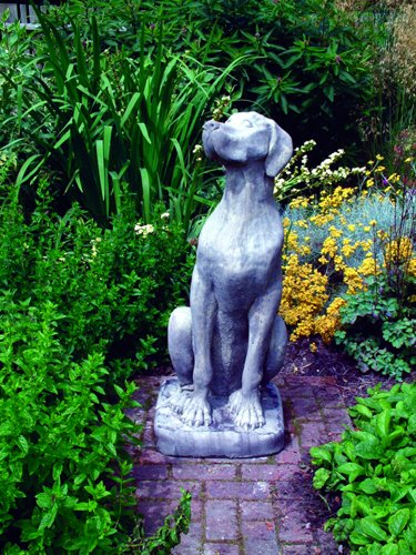 Female Great Dane Stone Statue