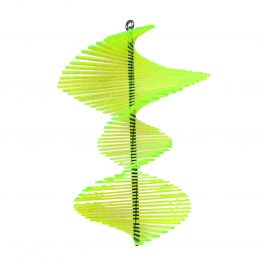 Fish Tail Green SunCatcher Wind Spinner - 40cm