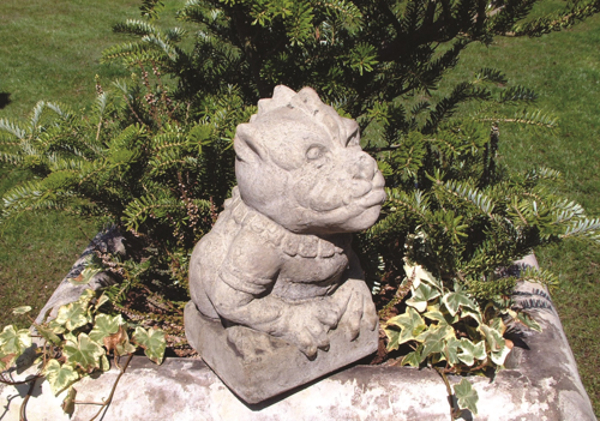 Small Dragon Stone Statue