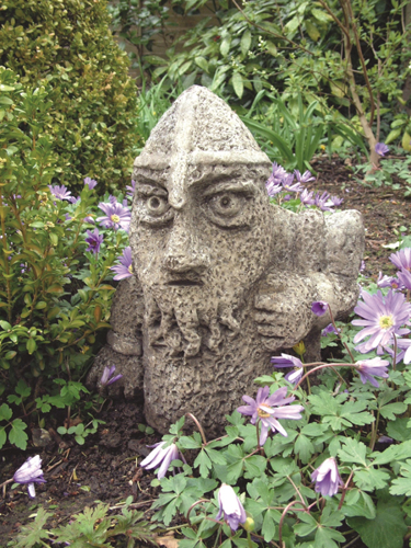 Norman the Gnome Stone Statue