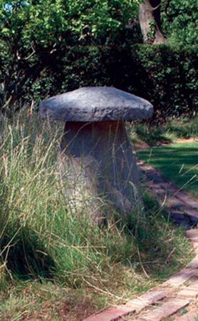 Large Staddle Stone Statue