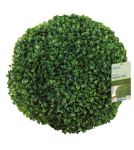 40cm Leaf Effect Artificial Topiary Ball by Gardman™