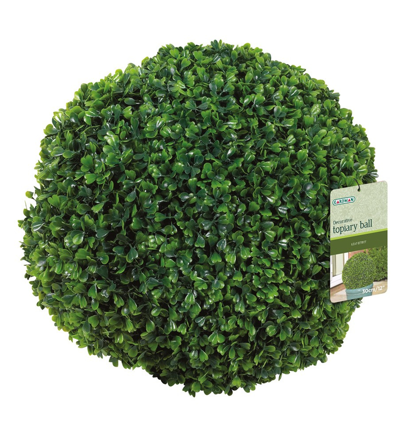27cm Leaf Effect Artificial Topiary Ball by Gardman™