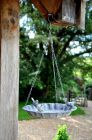 Toulon Hanging Metal Bird Feeder