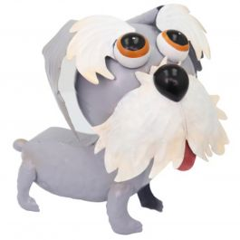 H23cm Sammy the Schnauzer Sculpture