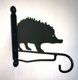 Ornamental Garden Hedgehog Bracket