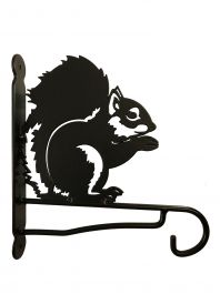 Ornamental Garden Squirrel Bracket