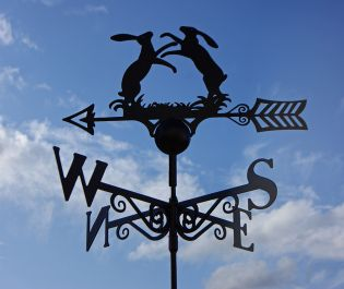 Boxing Hares Weathervane