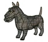 Topiary Dog Scottie CL W