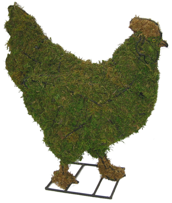 Topiary Chicken With Moss Filling