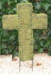 Topiary Cross With Moss Filling