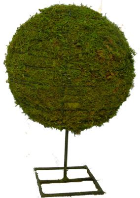 Topiary Globe With Moss Filling