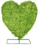 Topiary Heart With Moss Filling