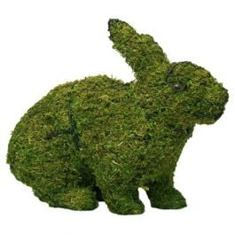 Small Rabbit Running Topiary Frame